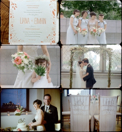 stylish vintage wedding