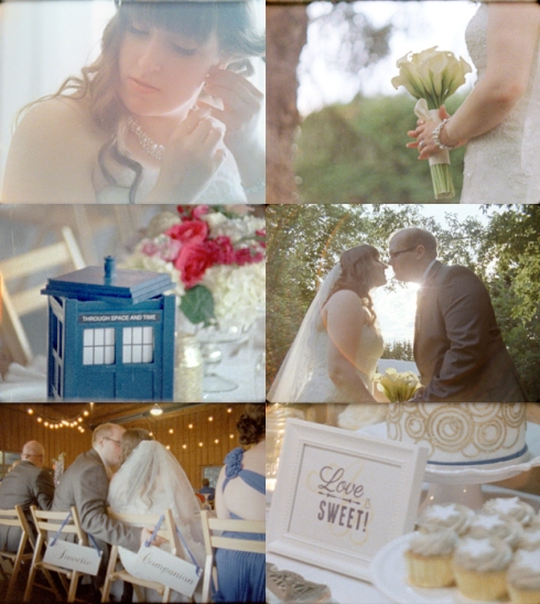 Dr. Who wedding